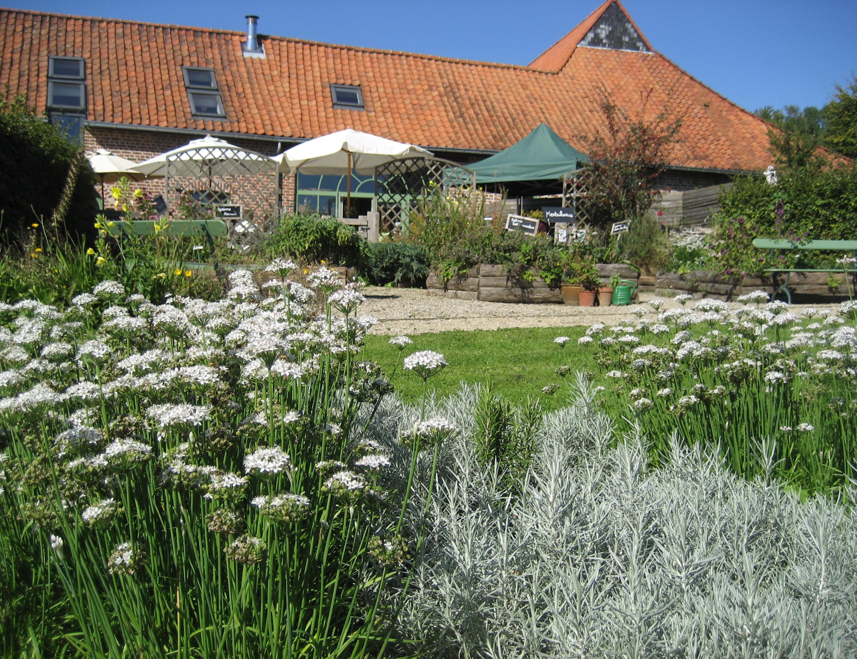 Les jardins de la grange tisanerie herboristerie for Jardins ouverts 2016